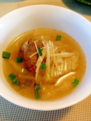 簡単☆あさりと生姜のスープ