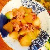 豚肉と夕顔の煮物