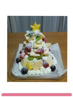 簡単可愛いクリスマスツリーケーキ クリスマスケーキ