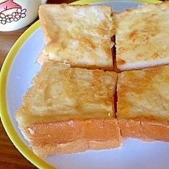 ノンオイル!うちのフレンチトースト