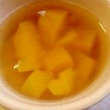 マンゴー缶でごろごろマンゴーゼリー