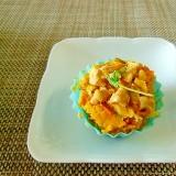 お弁当に!くるみとかぼちゃのマヨサラダ♪