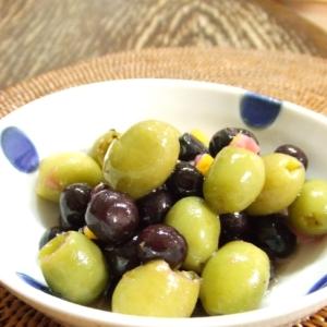 小豆島新漬オリーブとブルーベリーのマリネ