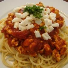 モッツァレラチーズが主役のパスタ