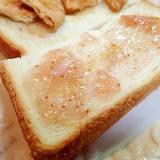 無花果ジャム&ミルキー黒糖トースト