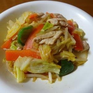 豚肉とたっぷり野菜のオイスターソース炒め