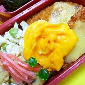 アレンジ目玉焼きのお弁当 女性向き