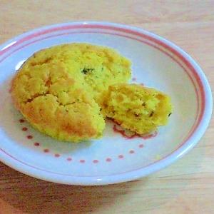 赤ちゃんのかぼちゃケーキ(離乳食後期以降)