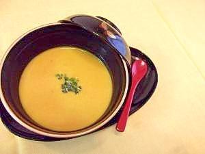 かぼちゃだけの和スープ