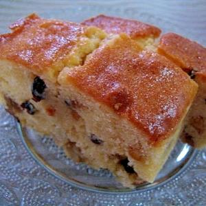 小麦粉から作る☆洋酒漬けフルーツのパウンドケーキ