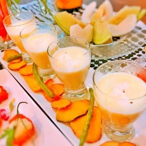 夏☆枝豆のポタージュ