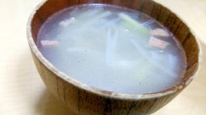 【牛タン切り落とし】タンのスープ