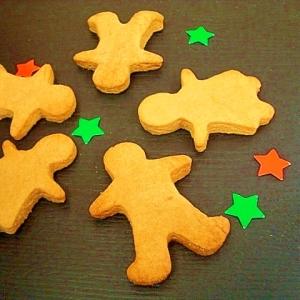 バター不使用☆ピッピのジンジャークッキー