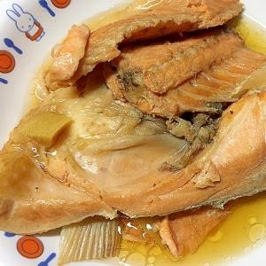鮭あらの甘辛煮