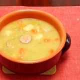 オランダの冬の定番料理★エルテンスープ