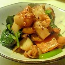 ホタテの旨みを存分に!野菜とホタテの旨み焼き!