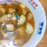 豚角切り炒め煮/ちょいピリ小ねぎ