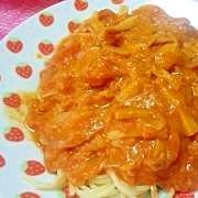 エリンギとツナのトマトソース☆