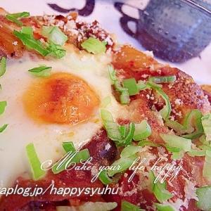 リメイク☆キムチーズと卵とろーりカレードリア