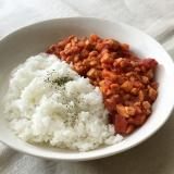 高野豆腐のキーマカレー