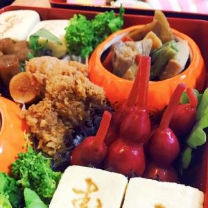 お正月☆簡単おせち料理☆甘い寿印の高野豆腐