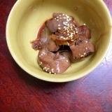 鶏レバーのポン酢煮【居酒屋メニュー】