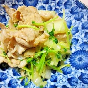 白菜の豚炒め