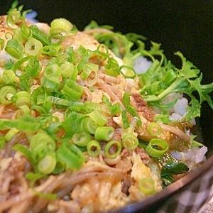 すき焼きの次の日は…すき焼き卵とじ丼