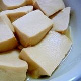 子供でも作れる★高野豆腐の煮物