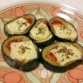 お弁当に♪茄子のケチャップチーズ焼き
