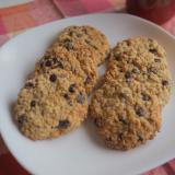 オートミールでヘルシーチョコチップクッキー
