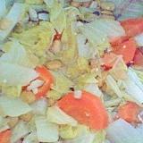 白菜と長芋の納豆煮