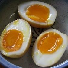 黄金色の黄味がねっとり濃厚!絶品!超簡単!味付け卵