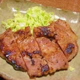 簡単豚肉の粕漬け