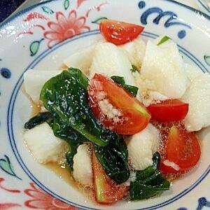 たたき山芋のサラダ