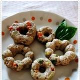 ドーナツ型で超簡単☆お弁当の彩に♡ミートローフ♪