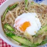 簡単お惣菜☆ 「肉そぼろと白滝炒め煮」