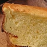 ココナッツオイルの米粉シフォンケーキ