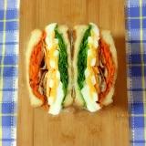 簡単☆カリカリポークのサンドイッチ♪