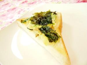 ❤馬鈴薯と韓国海苔のガリバタトースト❤