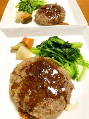 ふっくらハンバーグ★絶賛ソースと焼き方のコツ