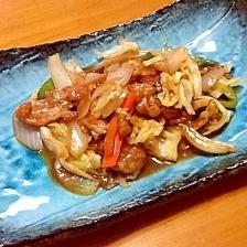 野菜の味噌炒め