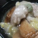 白菜の治部煮風