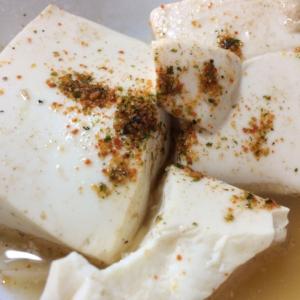 ピリ辛、温か〜い豆腐