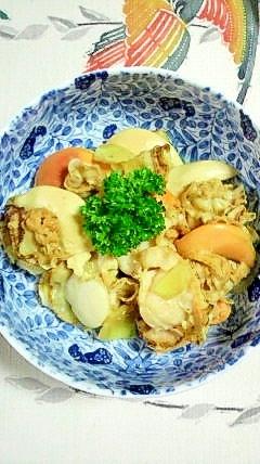 帆立の生姜煮