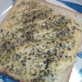 朝食メニュー★簡単!!チーズトースト★バジル風味