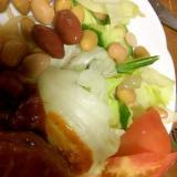 豆入りイタリアンサラダ