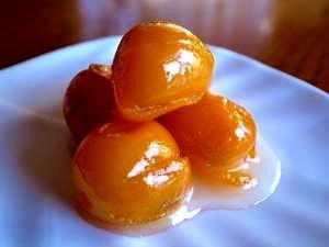 金柑(キンカン)の甘露煮
