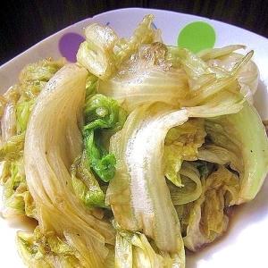 材料3つ!レタスのオイスターソース炒め(蠔油生菜)