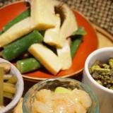 【富山食材】空豆の甘海老塩麹漬け和え